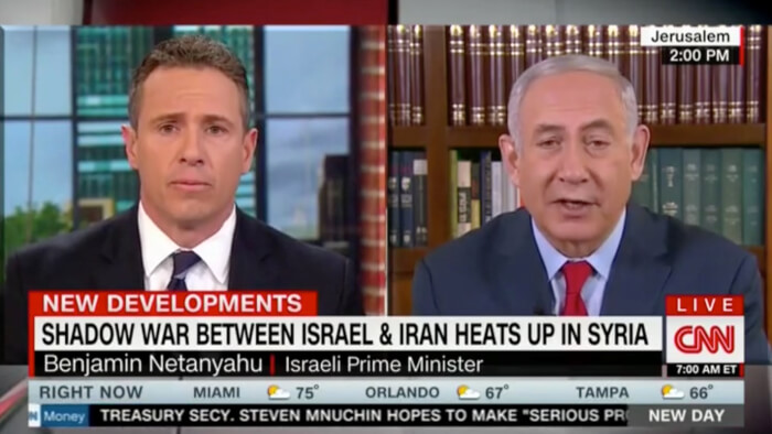 CNN's Chris Cuomo pressed Netanyahu on Israel's WMD and Slipped in The Truth