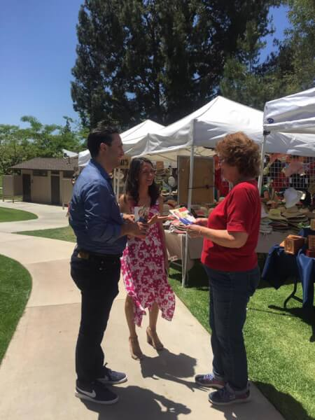 Sam Jammal campaign in June 2018 in California's 39th Congressional District primary election June 5, 2018