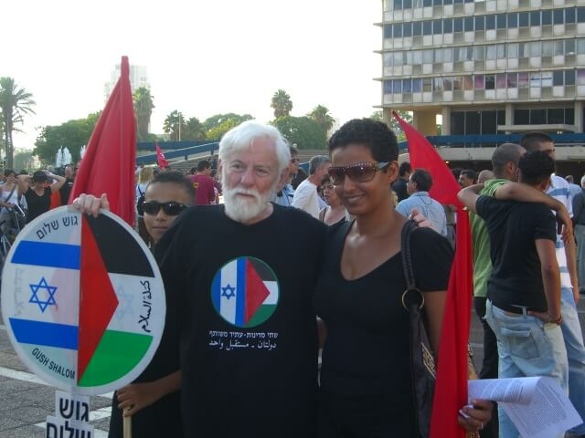 Peace activists mourn passing of Uri Avnery