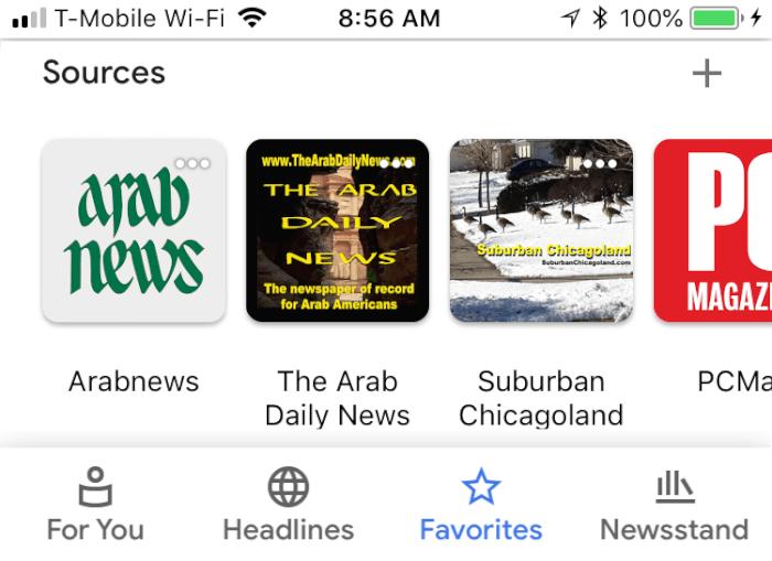 Google News App image