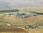 Mitzpe Karmim illegal Israeli settlement outpost, courtesy of Peace Now, Israel
