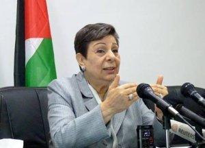 Ashrawi laments flaws in peace process, Israeli bad faith