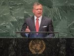 Jordans King Abdullah II at UN Sept. 25, 2018. Photo courtesy of the United Nations