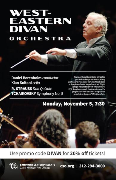 Barenboim brings Middle East ensemble to Chicago Nov. 5