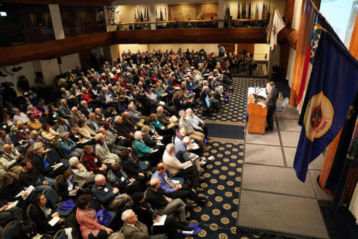Israel Lobby Conference audience 2018