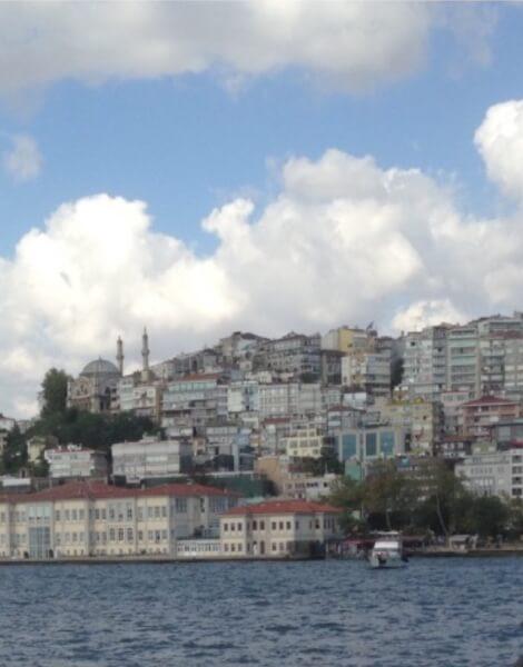 Istanbul from the sea. Photo courtesy of Abdennour Toumi