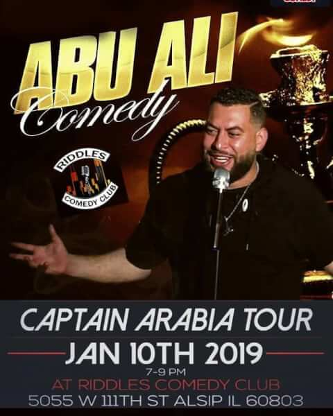 Abu Ali Owaynot comedy poster