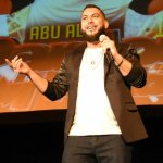 Palestinian standup comic Nasr Abu Ali Owaynat discusses his career