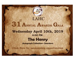 LAHC 31st Annual Awards Gala, Dearborn @ The Henry