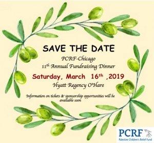 Palestine Children's Relief Fund fundraiser March 16 @ Hyatt Regency Hotel O'Hare
