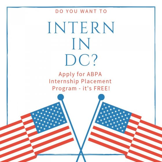 ABPA seeks interns for Washington D.C. assignments