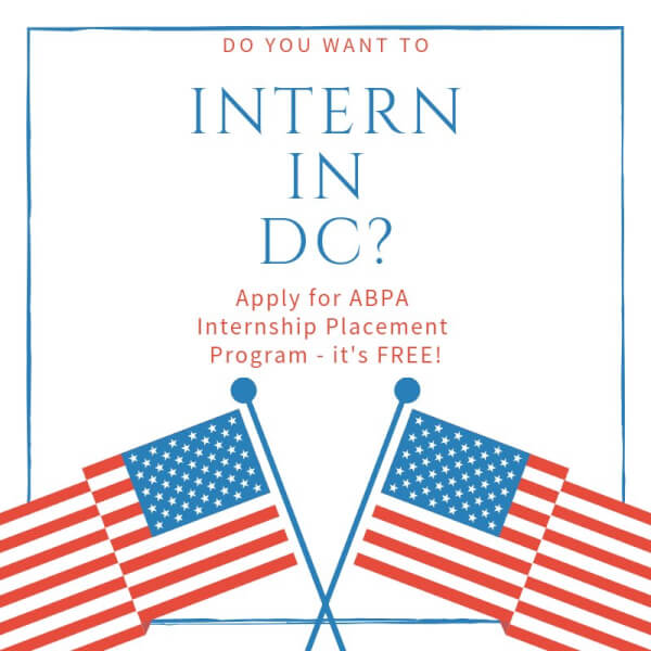 ABPA of Washington DC seeking intern sponsors