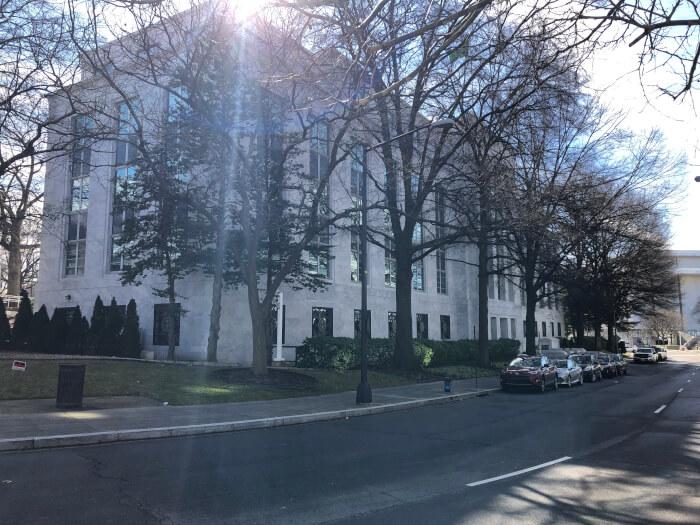Saudi Arabia Washington D.C. embassy. Photo courtesy Ray Hanania