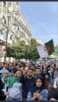 Students Rally against Pdt Bouteflika in Algiers. Photo Courtesy Khaled Drarni