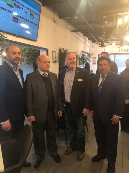 Arab Heritage Month April 10, 2019 gathering Oozi Corner restaurant