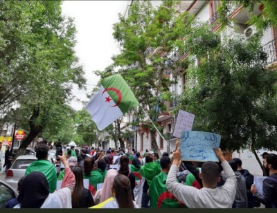Students Protest in Constantine Source Nozha in Algeria. Photo courtesy of Abdennour Toumi