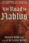 """Book cover """"The Road to Nablus"""" by author Bassam Hadi"""