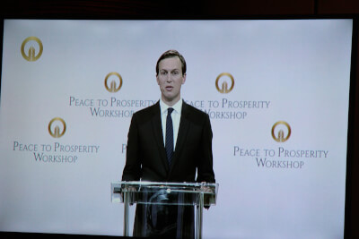 Some perspectives and notes from Kushner's Peace to Prosperity Confab