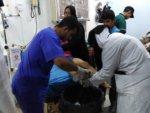 SAMS hospital security guard among 33 civilians killed during attackls in Ma'arat al-Nu'man