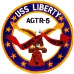 USS Liberty Ship's Patch