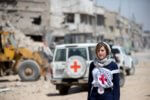 Nurse working for the International Committee of the Red Cross (ICRC). 2019