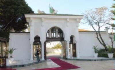 al-Mouradia Preidential Palace. Photo courtesy of Abdennour Toumi