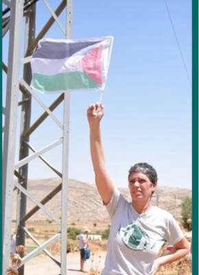 Member of Combatants for Peace, a Palestinian and Israeli group formed in 2006 to break the cycle of violence. Photo courtesy of Combatants for Peace.