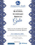 "American Arab Chamber hosts ""Building Bridges"" banquet Oct. 18, 2019"
