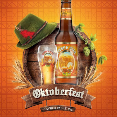 Taybeh Beer Brewery hosts the 15th Annual Taybeh Oktoberfest celebration Sept. 14 - 15, 2019