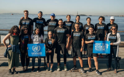 UNRWA USA partners in Run with Right to Movement Palestine to raise funds