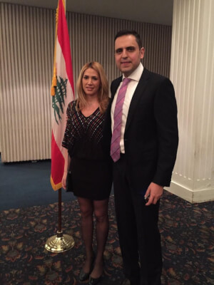 Reception Honoring General Consul of Lebanon Majdi Ramadan at LAU NY
