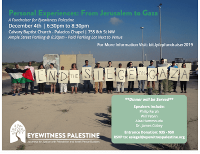 Eyewitness Accounts: Supporting Eyewitness Palestine