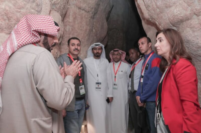 Arab Media tours Saudi historic site, Al-Ahsa