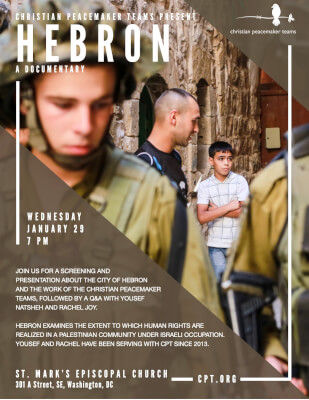 Hebron Documentary Jan 29 2020
