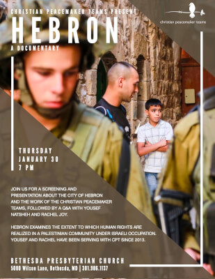 Hebron Documentary Jan 30 2020