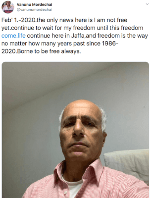 "Responding to 4chan's ""Why do the Jews still bully Mordechai Vanunu"""