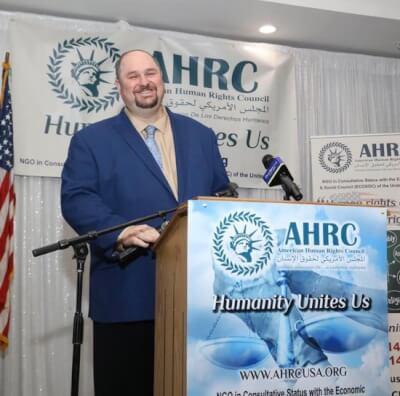 AHRC Board member and Michigan State Rep. Isaac Robinson.