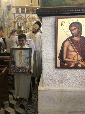 Christians surviving in Taybeh and Bethlehem in Occupied Palestine during the Coronavirus Pandemic. Photos courtesy of Dr. Maria Khoury