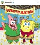 Popular mainstream American children's cartoon characters Spongebob Square Pants and Patrick.
