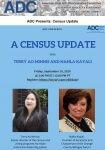 ADC Census Update Sept. 18, 2020