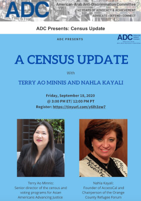 ADC Hosts online conference on the 2020 Census