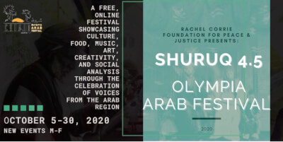Rachel Corrie Foundation hosts Olympia Washington ArabFest