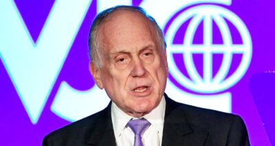 World Jewish Congress leader Ronald Lauder predicts peace will spread to Palestinians