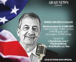 Promo for The Ray Hanania show on WNZK AM 690 Radio sponsored by the Arab News Newspaper