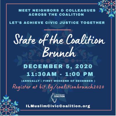 Illinois Muslim Coalition Virtual Brunch Dec. 5, 2020