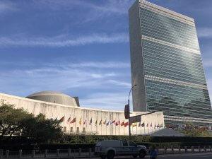 United Nations bUilding, New York. Photo courtesy Ray Hanania