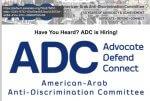 ADC American Arab Anti-Discrimination Committee Logo