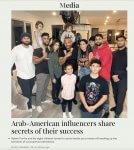 Arab-American influencers Furrha Family share secrets of their success