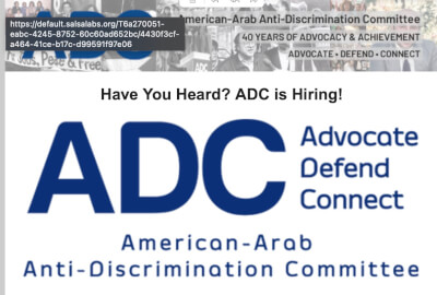 ADC has 3 job openings in legislation, legal and media