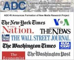 ADC logo for new unit monitoring anti-Arab bias in the news media